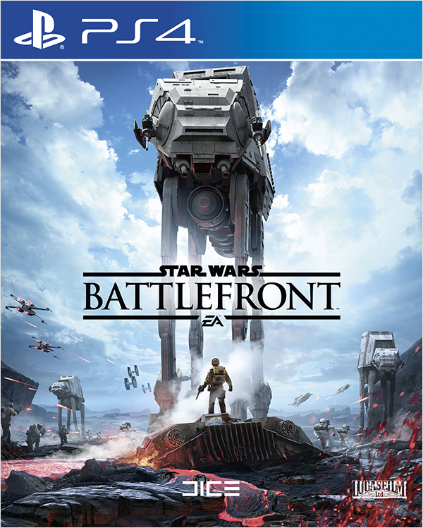 Star Wars: Battlefront [PS4]Зловещий грохот шагов AT-AT. Выстрелы бластеров повстанцев. Стремительные имперские спидеры. Бои между крестокрылами и СИД-истребителями. Эпические битвы и новые подвиги во вселенной Звёздных войн™.<br>