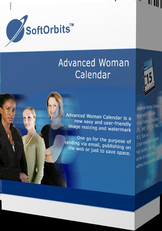 SoftOrbits Advanced Woman Calendar (Женский календарь для ПК) (Цифровая версия)