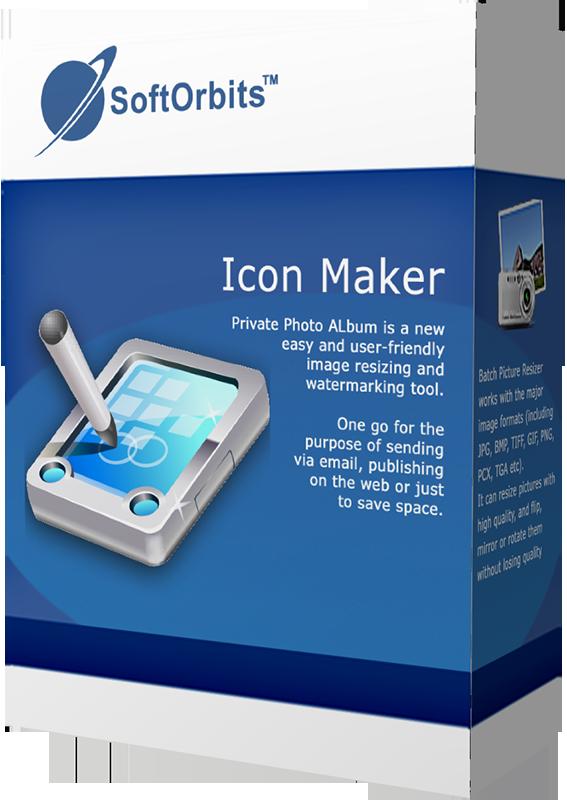 SoftOrbits Icon Maker (Редактор иконок) (Цифровая версия)