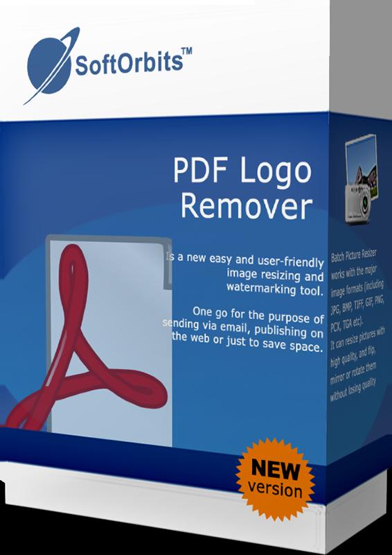 SoftOrbits PDF Logo Remover (Удаление логотипов с PDF) (Цифровая версия)