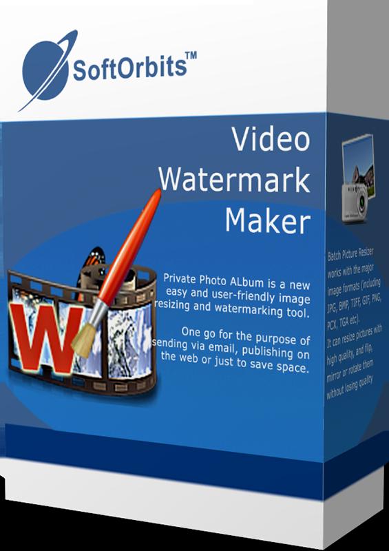 SoftOrbits Video Watermark Maker (Добавление логотипа на видео) (Цифровая версия)
