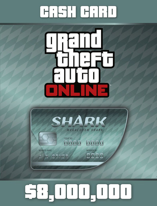 Grand Theft Auto Online: Megalodon Shark Cash Card [PC, Цифровая версия] (Цифровая версия) mr froger carcharodon megalodon model giant tooth shark sphyrna aquatic creatures wild animals zoo modeling plastic sea lift toy