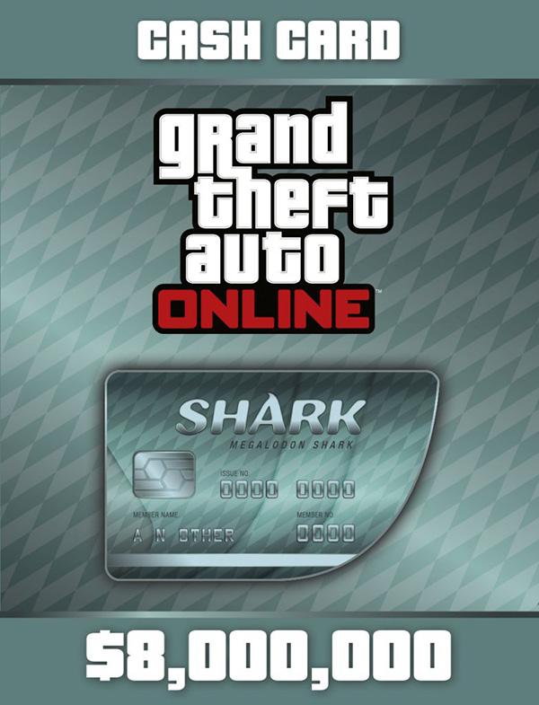 Grand Theft Auto Online: Megalodon Shark Cash Card [PC, Цифровая версия] (Цифровая версия) grand theft auto online стартовый набор преступная организация дополнение [pc цифровая версия] цифровая версия