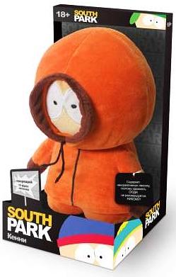Мягкая игрушка Южный парк. Кенни со звуком (22 см)Мягкая игрушка Южный парк. Кенни со звуком – сувенир мягконабивной в виде персонажа мультсериала South Park с звуковым чипом, приводимым в действие нажатием на ладонь персонажа.<br>