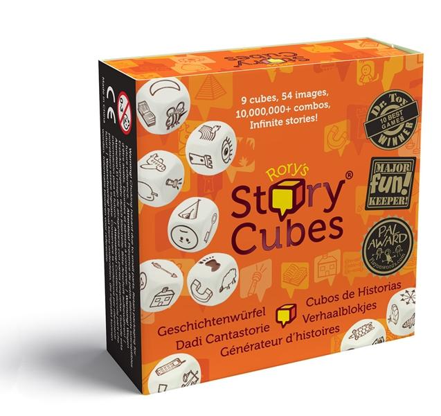 Настольная игра Кубики историй игра настольная обучающая rory s story cubes кубики историй космос
