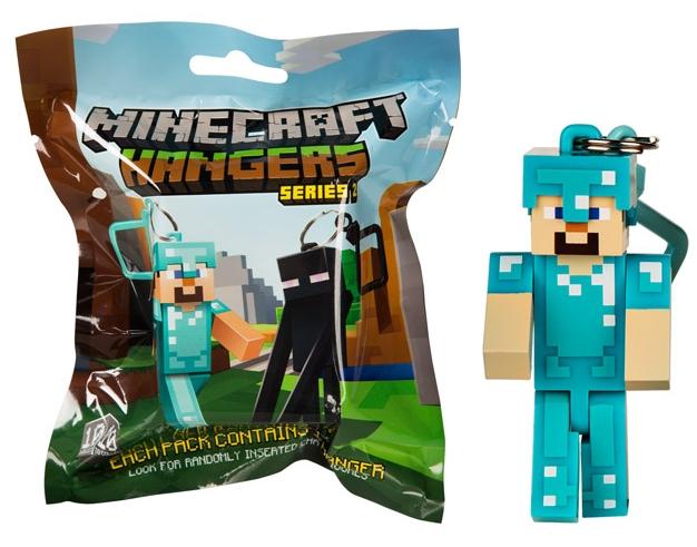 Брелок Minecraft (7 см) (в ассортименте)Брелок Minecraft из серии фигурок-брелоков по популярной игре Minecraft!<br>