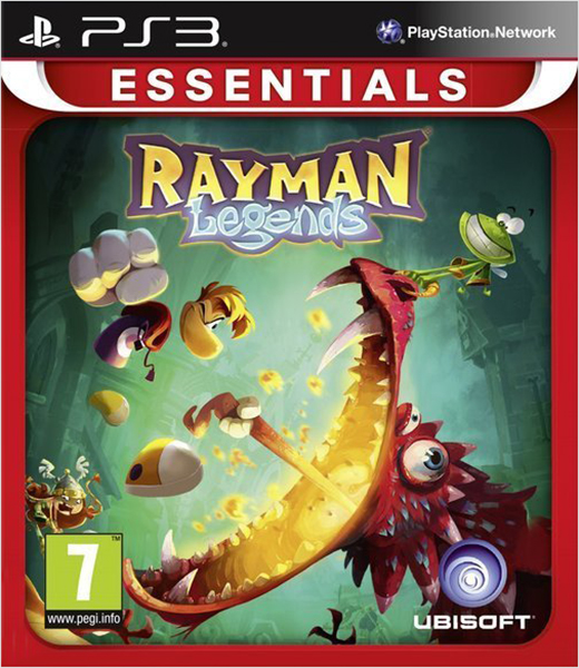 Rayman Legends (Essentials) [PS3]Игра Rayman Legends продолжает серию игр Rayman в жанре 2D-платформер, где вам предстоит в компании Рэймана, Глобокса и Тинси перенестись в нарисованный мир, являющийся отправной точкой их веселых и безудержных приключений.<br>