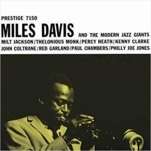 Miles Davis. Miles Davis & The Modern Jazz Giants (LP)
