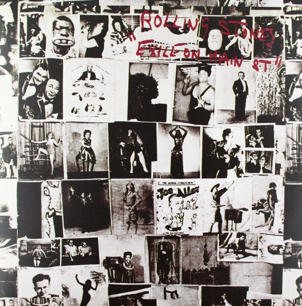 The Rolling Stones. Exile On Main Street (2 LP) rolling stones spielberg