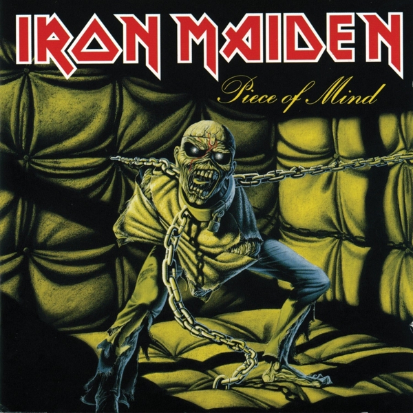 Iron Maiden. Piece Of Mind (LP) iron maiden – the book of souls live chapter 3 lp
