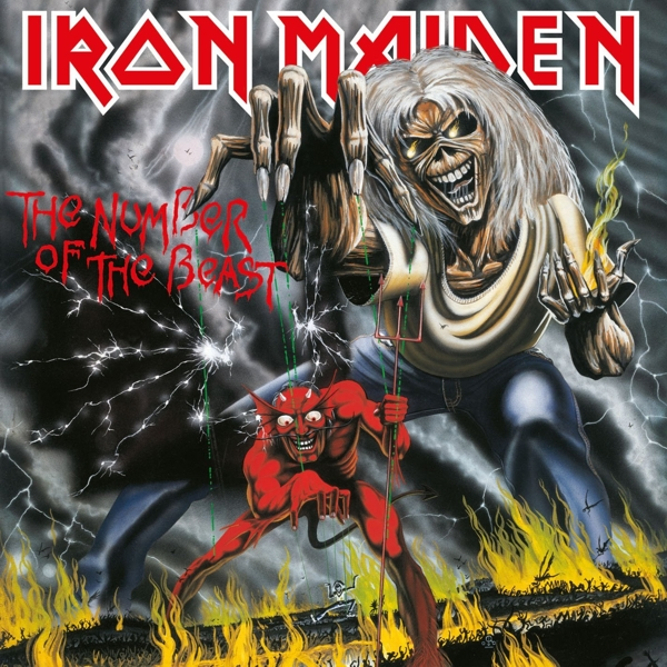 Iron Maiden. The Number Of The Beast (LP) gal mpr 440