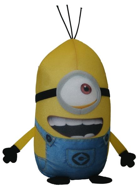 Мягкая игрушка-антистресс Гадкий я. Миньон Стюарт (20 см)Мягкая игрушка-антистресс Гадкий я. Миньон Стюарт создана по мотивам популярного анимационного фильма &amp;laquo;Гадкий я&amp;raquo;.<br>