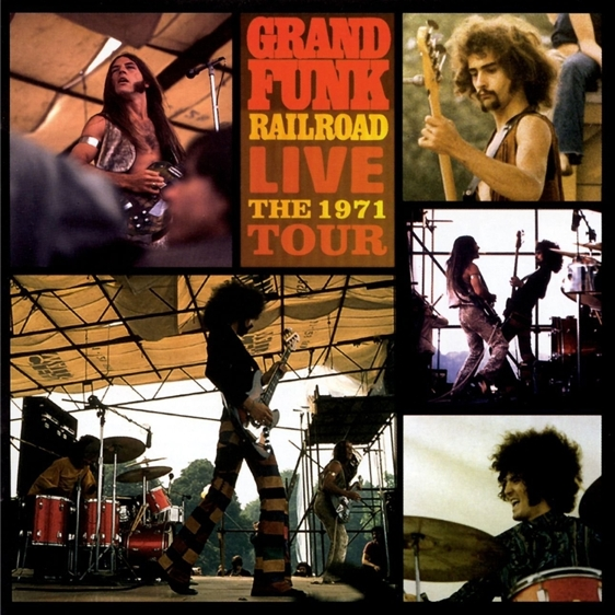 Grand Funk Railroad. Live The 1971 Tour (2 LP) от 1С Интерес