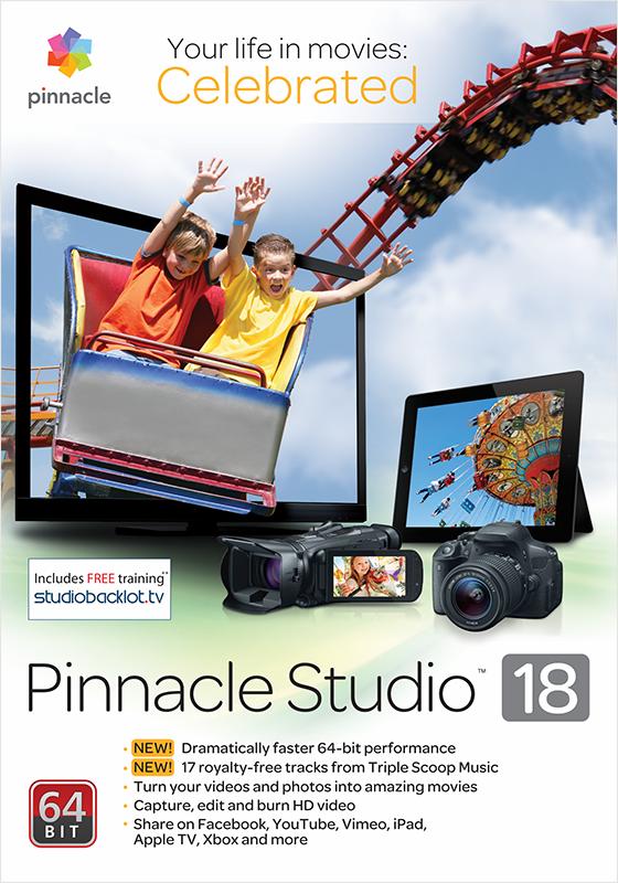 Pinnacle Studio 18 Standard (Цифровая версия)