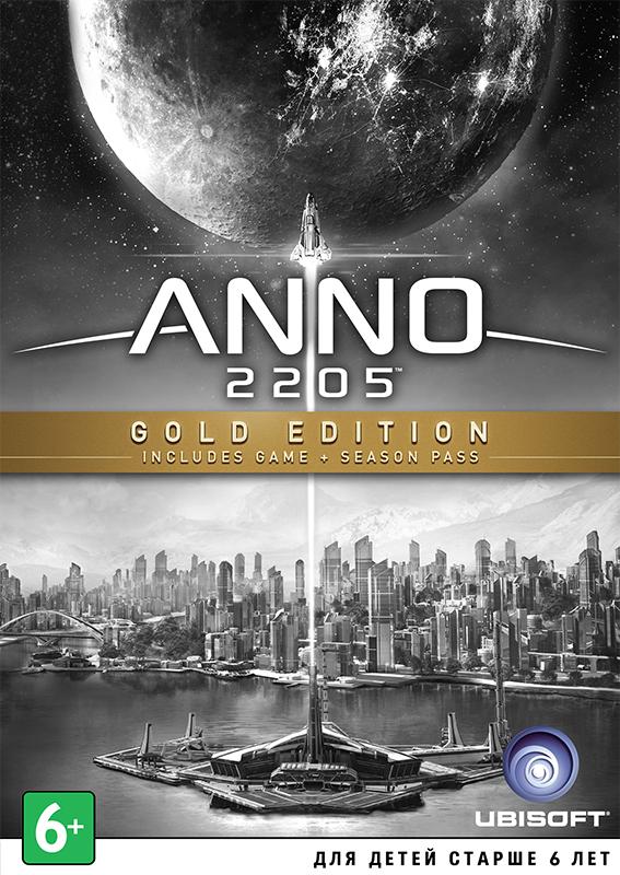 Anno 2205. Gold Edition (Цифровая версия)Игра Anno 2205 – полюбившийся игрокам симулятор городского строительства покоряет новые пространтсва – выходит в космос! В Anno 2205 вы поможете человечеству сделать очередной шаг в светлое будущее.<br>