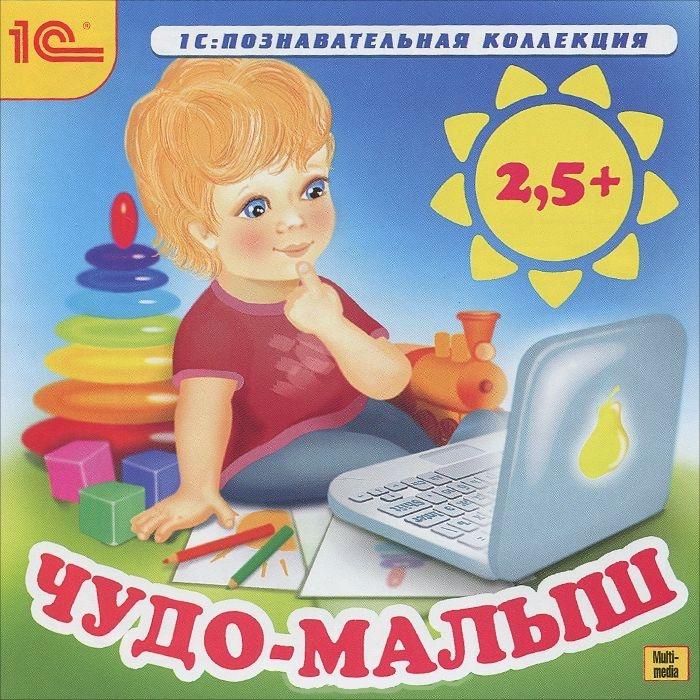 Чудо-малыш. 2,5 +Ежедневные игровые занятия курса Чудо-малыш. 2,5 + будут способствовать развитию у вашего ребенка таких познавательных процессов, как внимание, память, мышление и воображение, а также координации движений руки и тонкой моторики.<br>
