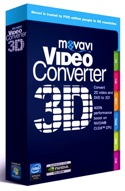 Movavi Видео Конвертер 3D. Персональная лицензия (Цифровая версия)Ваши любимые фильмы и семейные видеозаписи в 3D формате.<br>