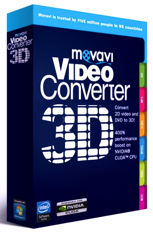 Movavi Видео Конвертер 3D. Бизнес лицензия (Цифровая версия)Ваши любимые фильмы и семейные видеозаписи в 3D формате.<br>
