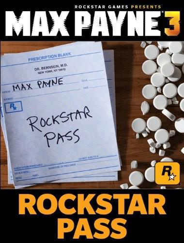 Max Payne 3. Rockstar Pass