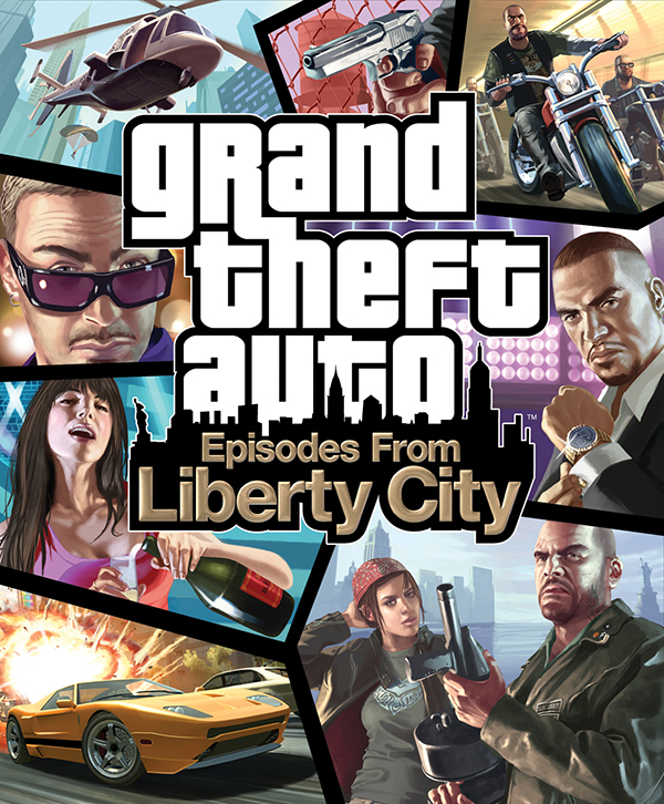 Grand Theft Auto: Episodes from Liberty City (Цифровая версия) gta 4 liberty city ключ