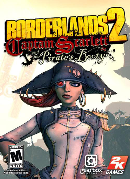 Borderlands 2. Капитан Скарлетт и ее пиратское сокровище. Дополнение (Цифровая версия)