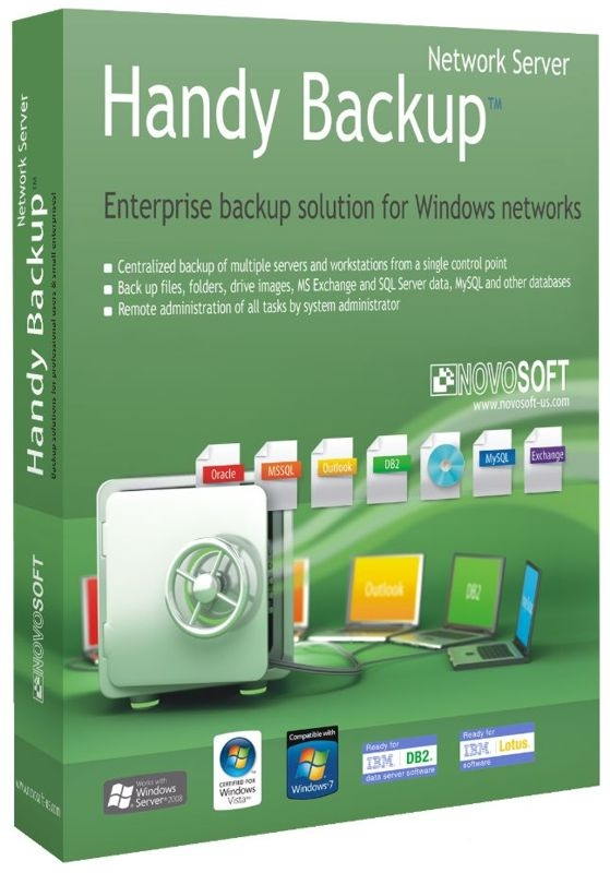 Handy Backup Network 7 (Цифровая версия)Программа резервного копированияHandy Backup Network – это профессиональное сетевое решение для корпоративных пользователей, которым нужна надежная программа для автоматизации всех процессов резервного копирования.<br>