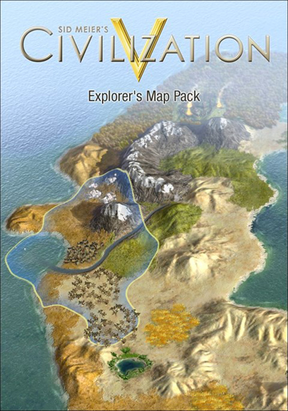 Sid Meier's Civilization V. Explorer's Map Pack. Набор карт