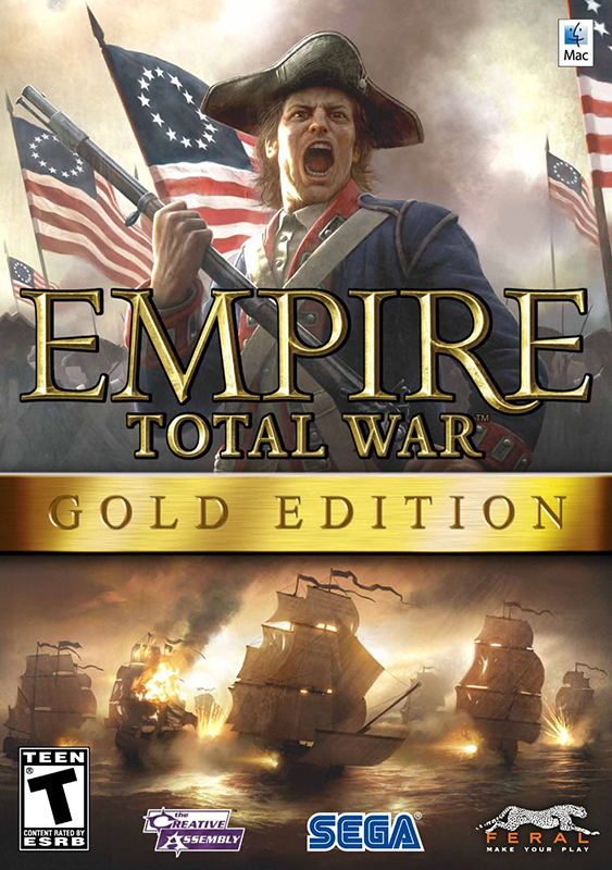 Empire: Total War. Gold Edition [MAC] (Цифровая версия) south park the fractured but whole gold edition цифровая версия
