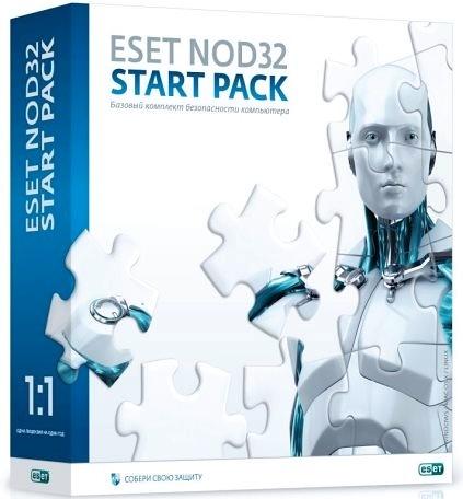ESET NOD32 Start Pack. Без продления (1 ПК, 1 год) eset nod32 антивирус platinum edition 3пк 2года