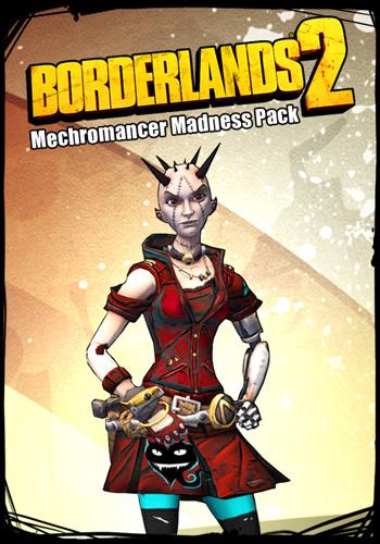 Borderlands 2. Набор «Безумие мехромантки» (Цифровая версия)