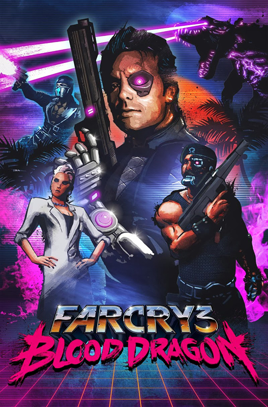 Far Cry 3. Blood Dragon (Цифровая версия) far cry 3 essentials игра для ps3