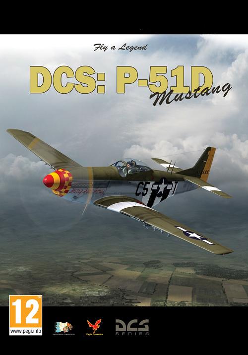 DCS. P-51D Mustang, модуль DCS World (Цифровая версия) cymodel mustang p 51d 46 cy8011a