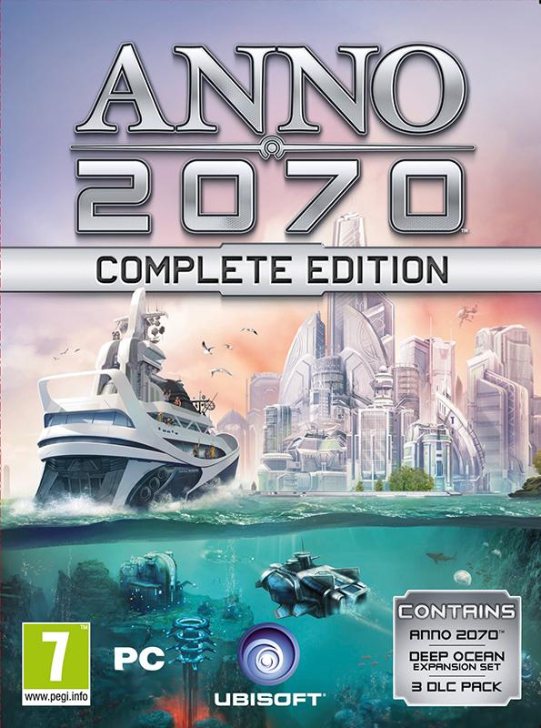 Anno 2070. Полное издание [PC, Цифровая версия] (Цифровая версия) sacred 3 расширенное издание цифровая версия