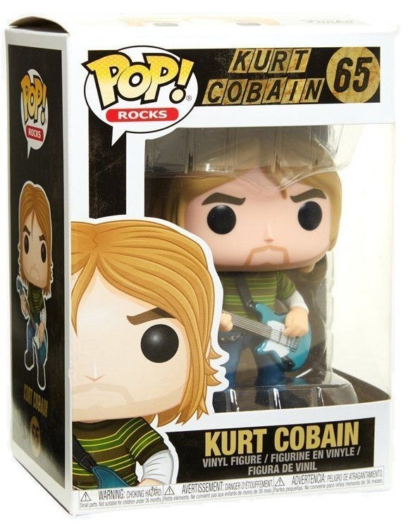 Фигурка Funko POP Rocks: Kurt Cobain (9,5 см)