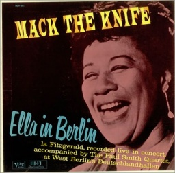 Ella Fitzgerald. Mack The Knife. Ella In Berlin (LP)