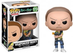 Фигурка Funko POP Animation: Rick & Morty – Weaponized Morty (9,5 см)