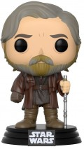 Фигурка Star Wars Episode VIII The Last Jedi Funko POP: Luke Skywalker Bobble-Head (9,5 см)