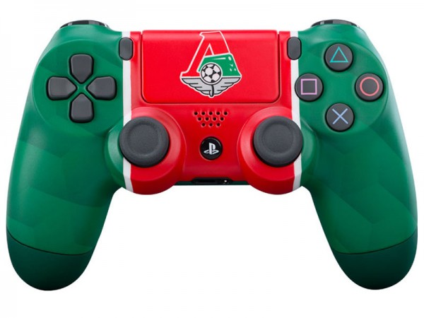 Геймпад DualShock 4 для PS4 беспроводной кастомизированный ФК Локомотив «Чемпионский экспресс» (RBW-DS034)