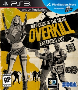 The House of the Dead. Overkill. Extended Cut (c поддержкой PS Move) [PS3]