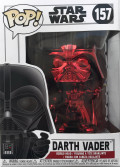 Фигурка Funko POP: Star Wars – Darth Vader Red Chrome Exclusive Bobble-Head (9,5 см)