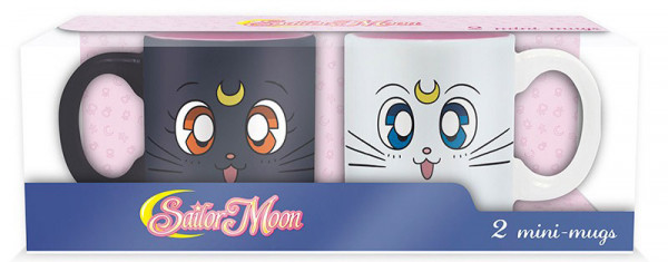 Набор кружек Sailor Moon: Luna & Artemisi (2-Pack)