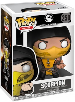 Фигурка Funko POP Games: Mortal Kombat X – Scorpion (9,5 см)