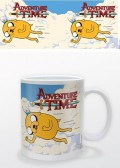 Кружка Adventure Time. Jake & Finn Flying