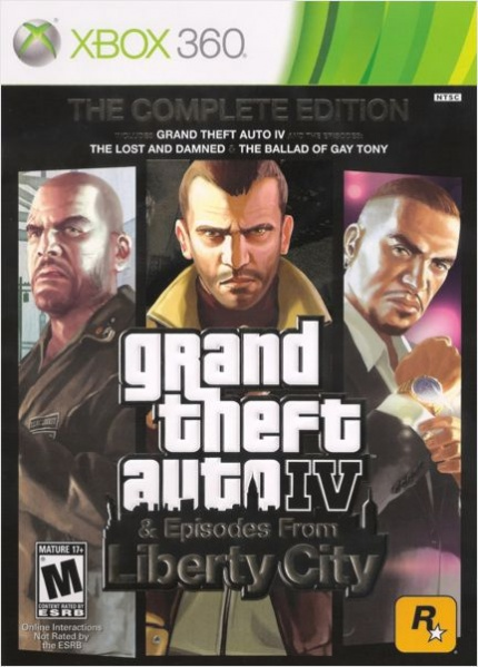 Grand Theft Auto IV: The Complete Edition [Xbox 360]