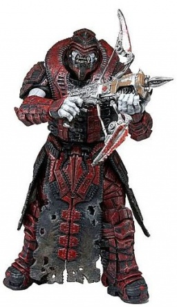 Фигурка Gears of War: Gold Series. Theron Sentinel. Version 2 (18 см)