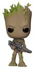 Фигурка Funko POP Marvel: Avengers Infinity War – Groot Bobble-Head (9,5 см)