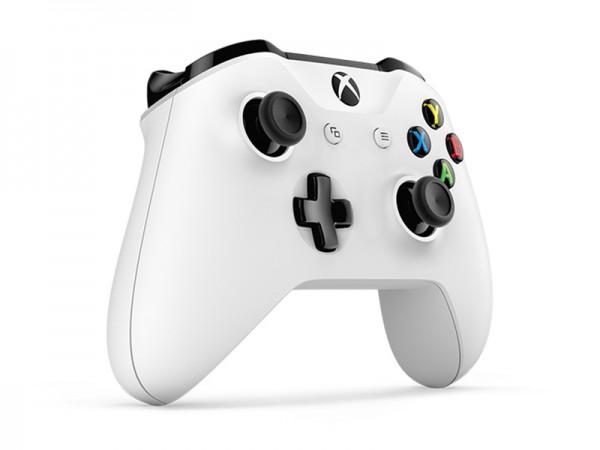Геймпад для Xbox One беспроводной с 3,5 мм разъемом и Bluetooth (белый) (TF5-00004)
