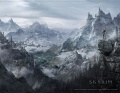 Плакат Skyrim Wallscroll. Valley