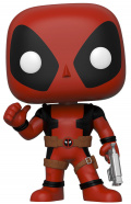 Фигурка Funko POP: Deadpool – Deadpool Thumbs Up (Red) Bobble-Head  (25,4 см)
