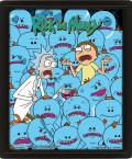 3D Постер Rick And Morty: Mr. Meeseeks